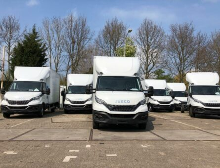 JUSTDRIVE op Iveco Daily